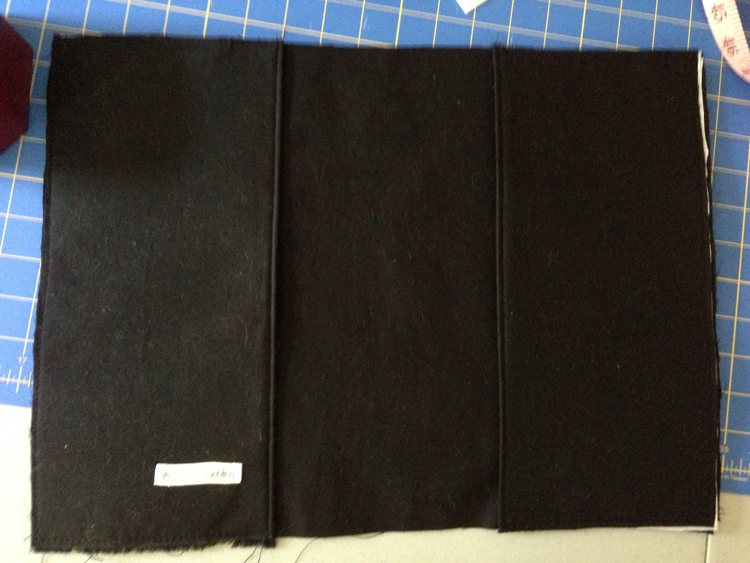 both sleeves on lining