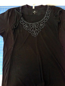charmed Liebling shirt to dress tutorial