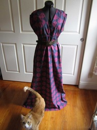 Amy's maxidress with Henry